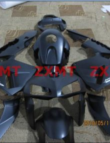 ZXMT Black ABS Fairing Set 17pc - Honda CBR 600RR 2005-2006***No Honda Logos***