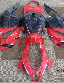 ZXMT Red/Black ABS Fairing Set 26pc - Honda CBR 600RR 2009-2012