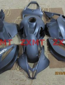 ZXMT Black ABS Fairing Set 26pc - Honda CBR 600RR 2009-2012
