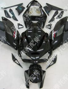 ZXMT Black ABS Fairing Set 19pc - Honda CBR 1000RR 2004-2005***No Honda Logos***