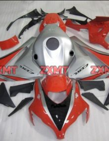 ZXMT Red/Silver ABS Fairing Set 19pc - Honda CBR 1000RR 2008-2009***No Honda Logos***