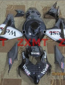 ZXMT West ABS Fairing Set 19pc - Honda CBR 1000RR 2008-2009***No Honda Logos***