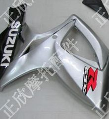 ZXMT Silver ABS Fairing Set 23pc - Suzuki GSXR600/750 2006-2007