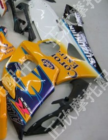 ZXMT Yellow Corona ABS Fairing Set 20pc - Suzuki GSXR1000 2005-2006