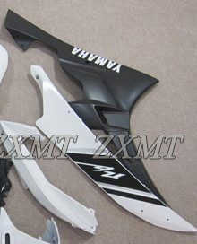 ZXMT White/Black ABS Fairing Set 15pc - Yamaha YZF-R6 2006-2007