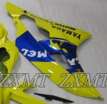 ZXMT Yellow Camel ABS Fairing Set 15pc - Yamaha YZF-R6 2006-2007