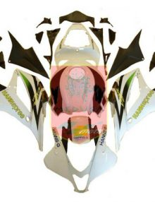 Aftermarket HannSpree ABS Fairing Set 23pc - Honda CBR600RR 2007-2008***No Honda Logos***