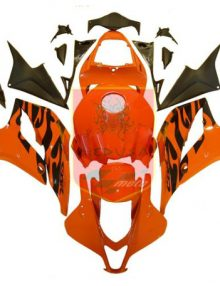 Aftermarket Orange ABS Fairing Set 23pc - Honda CBR600RR 2007-2008***No Honda Logos***