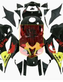 Aftermarket RedBull ABS Fairing Set 25pc - Honda CBR600RR 2009-2012