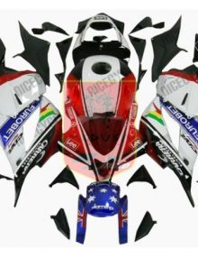 Aftermarket Eurobet ABS Fairing Set 25pc - Honda CBR600RR 2009-2012***No Honda Logos***