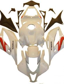 White/Red Full Fairing Set 26pc - Honda CBR600RR 2009-2012