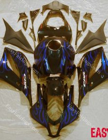 Blue Flames Full Fairing Set 26pc - Honda CBR600RR 2009-2012