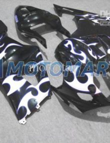 White/Black ABS Fairing Set K3 - Suzuki GSXR1000 2003-2004