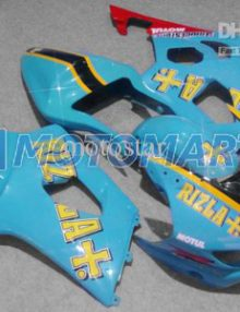 Blue/Red ABS Fairing Set K3 - Suzuki GSXR1000 2003-2004