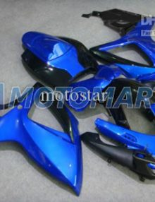 Black/Blue ABS Fairing Set K6 - Suzuki GSXR600/750 2006-2007