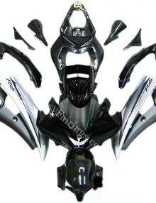 Agip Black/Silver Fairing Set 19pc - Yamaha R6 2006-2007