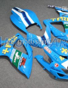 Blue Rizla ABS Fairing Set K6 - Suzuki GSXR600/750 2006-2007