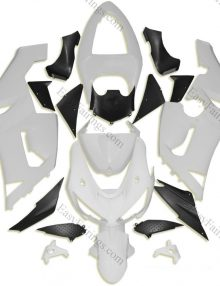 Unpainted ABS Fairing Set 21pc - Kawasaki ZX-6R 2005-2006