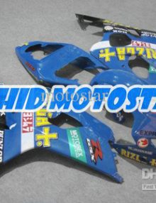 Blue/Yellow/Black Rizla ABS Fairing Set K4 - Suzuki GSXR600/750 2004-2005