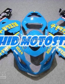 Blue Rizla ABS Fairing Set K4 - Suzuki GSXR600/750 2004-2005