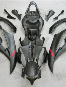 Black/Red Fairing Set 15pc - Yamaha R6 2006-2007