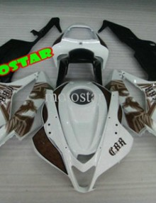 White/Black ABS Fairing Set - Honda CBR 600RR 2007-2008