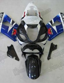 Blue/White/Black Fairing Set 9pc - Suzuki GSXR 1000 2003-2004