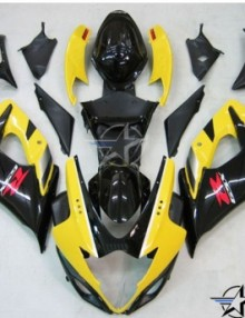 ABS Fairings OEM Style Yellow & Black  Fairing Set - Suzuki GSXR1000 2005-2006