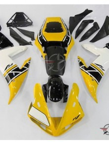 ABS Fairings Yellow & Black 16pc Fairing Set - Yamaha YZF-R1 2002-2003