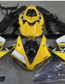 ABS Fairings  50th Anniversary Yellow & Black  20pc Fairing Set - Yamaha YZF-R1 2004-2006