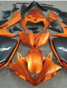 ABS Fairings Burnt Orange & Black 26pc Fairing Set - Yamaha YZF-R1 2007-2008
