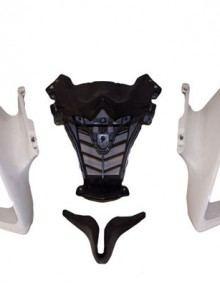 ABS Upper Nose Fairing Cowl - Yamaha YZF R6 2008-2011