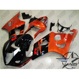 Abs Fairings Burnt Orange Black 03 04