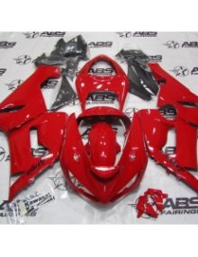 ABS  Fairings All Red - 05-06' ZX6R