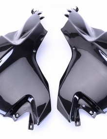 Bestem BMW K1200S Carbon Fiber Tank Side Panels ,100%