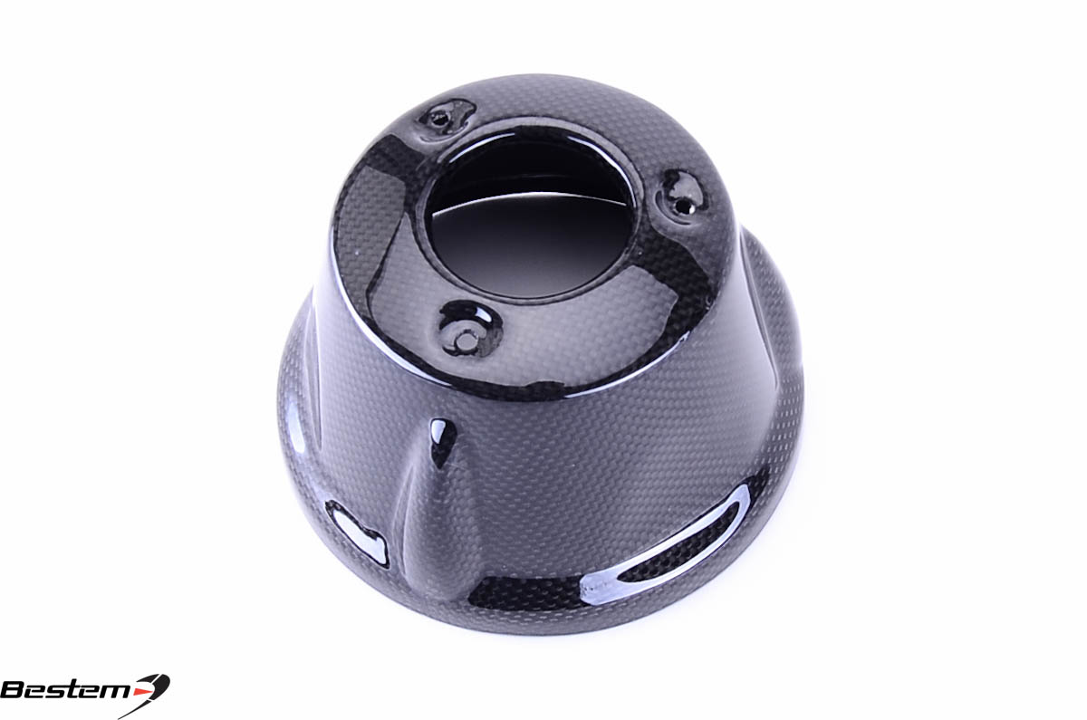 Bestem BMW K1200R K1200S Carbon Fiber Exhaust Cover Tip Guard ,100%