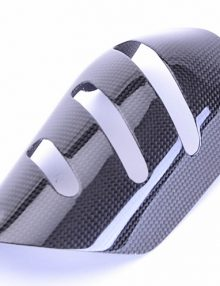 Bestem BMW K1300S K1300R Carbon Fiber Heat Shield