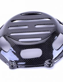 Bestem Ducati Carbon Fiber Dry Clutch Cover, Open Style 1