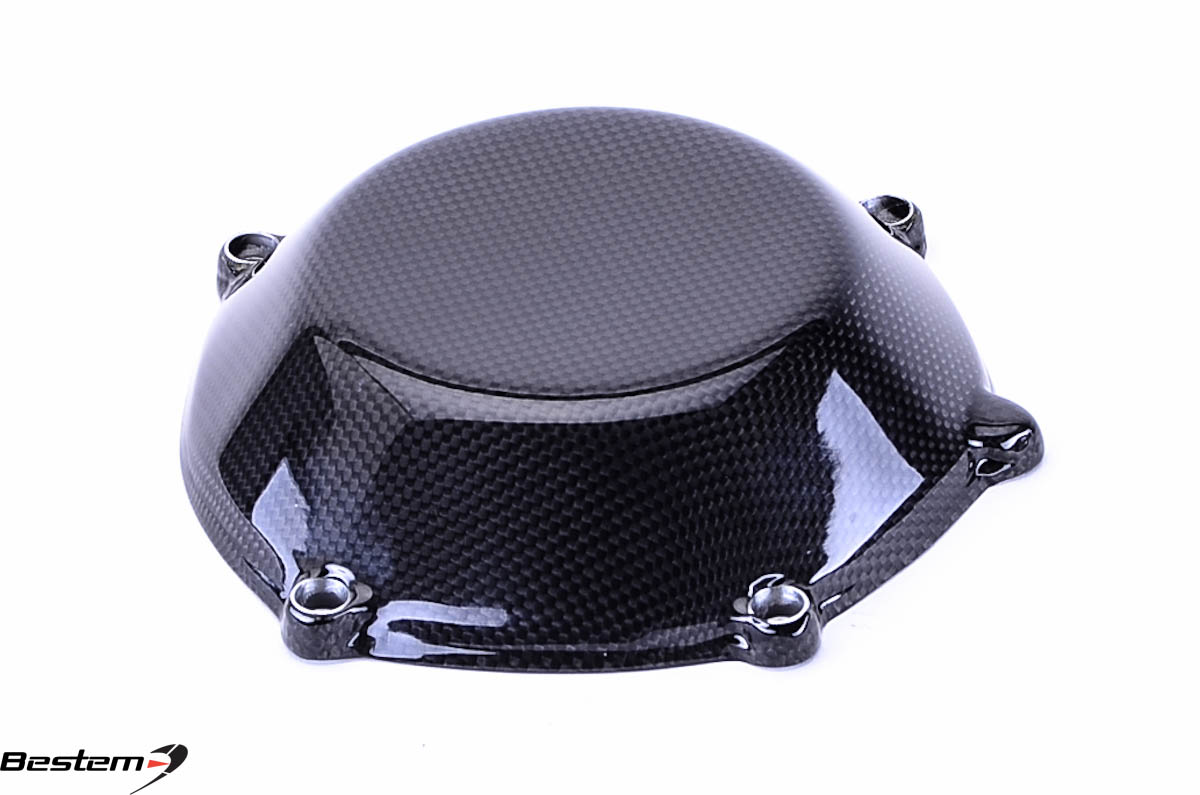 Bestem Ducati Carbon Fiber Dry Clutch Cover Closed Style