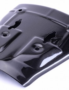 Bestem Kawasaki ZX6R 2005 - 2006 Carbon Fiber Heat Shield Lower