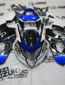 ABS Fairings Blue & Black Corona - 04-05' GSXR 600/750