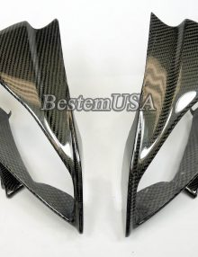 Bestem Yamaha YZF R6 2008 - 2013 Carbon Fiber Head Cowl Head Light Covers,100%