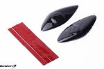Bestem Yamaha YZF R6 2008 - 2013 Carbon Fiber Tank Side Guards