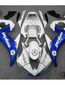 ABS Fairings Blue Jordan Edition - 06-09' R6S