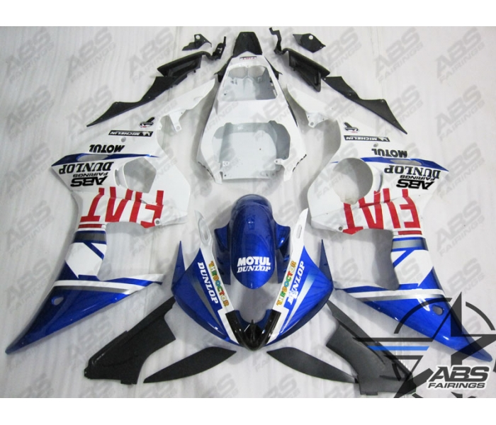 ABS Fairings Fiat Edition - 06-09' R6S