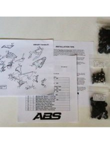 ABS Fairings Honda CBR1100XX Blackbird Fairing Fasteners