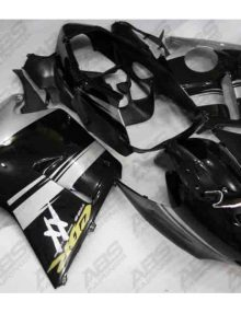 ABS Fairings Black & Silver - 1996-07' CBR1100XX Blackbird