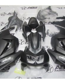 ABS Fairings All Matte Black - 08-11' Ninja 250R