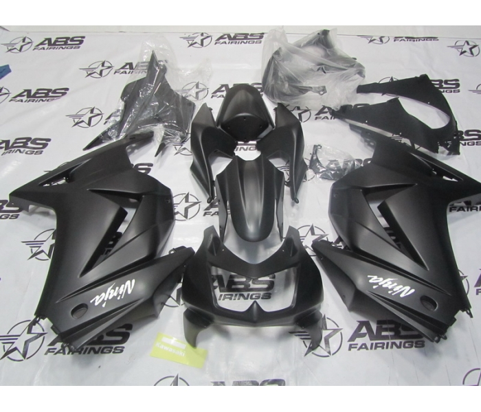 abs fairings all matte black