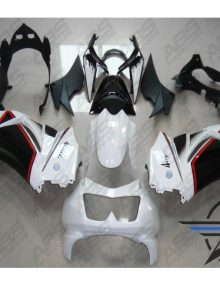 ABS Fairings Black & White - 08-11' Ninja 250R